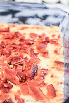 Trisha Yearwood's Charleston Cheese Dip Recipe ~ Says: The guests at my party devoured this stuff. If you need a great appetizer that will be a huge hit at a party, look no further... Seriously, y'all. Trisha wasn't playing around when she wrote this recipe.