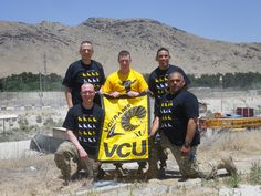 VCU alumni all over the world - even in Afghanistan!