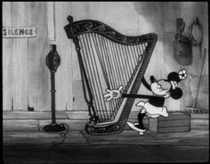 minnie mouse harp