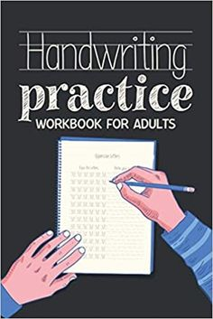 Handwriting Practice Workbook for Adults: Workbook6x9 inches: Publishing, Carrizales: 9798663325042: Amazon.com: Books Journal Writing Prompts, Cute Journals, Handwriting Practice, Kindle App, Machine Learning, Work Hard, This Book, Amazon, Books
