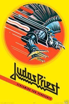 Judas Priest Promotional Poster https://www.facebook.com/FromTheWaybackMachine