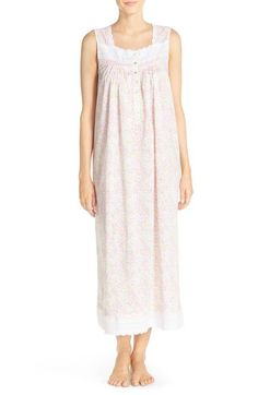 Eileen West Print Cotton Ballet Nightgown available at #Nordstrom