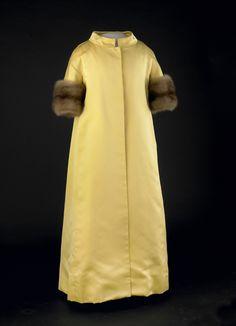 Lady Bird Johnson's Inagural gown.