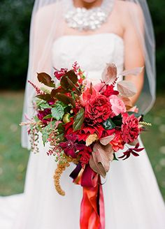 Fall wedding bouquet | blog.theknot.com