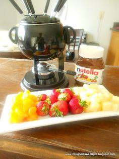 Designers Sweet Spot: Day 11: Nutella Fondue