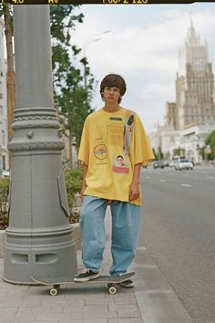PACCBET Rassvet Winter 2018 Collection Gosha Rubchinskiy Moscow Skate Store Release Date For Sale Availbility Boy Outfits, Fashion Outfits, Mens Fashion, Skate Fashion, Style Skate, Looks Hip Hop, Sup Girl, Skate Boy, Estilo Grunge