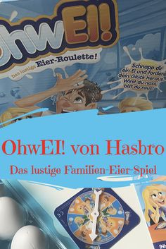 OhwEi! von Hasbro ist ein witziges Spiel für die ganze Familie. Beim feucht-fröhlichen Eierroulette bleibt kein Kopf trocken. Die englische Version heißt Egged On. Mehr Informationen und ein Video findet ihr im Blogbeitrag.  #hasbrotopspielzeug