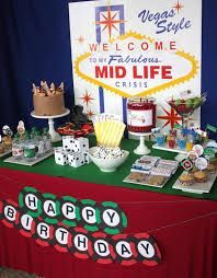 40th birthday party ideas for men - Google Search                                                                                                                                                                                 More