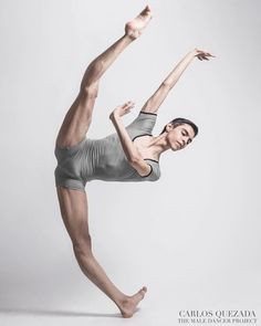 His flexibility is ridiculous!