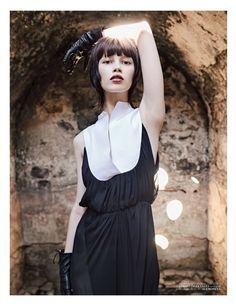 Ranya Mordanova by Ahmet Polat for Vogue Turkey January 2011