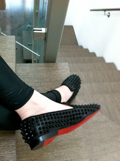 Spikes x Red Bottoms <3