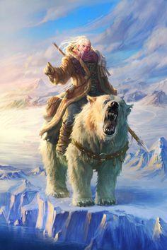 Hoth, Ranger.  With Kimo the bear.