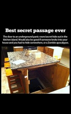 I would soo want this in my home. A quick getaway ★