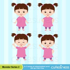 Monster Series 2 Digital Clipart : 27 Graphics Best Value ----------------------- ★★ Package Included ★★----------------------------------- *You will received a total of 27 Files in PNG Format with TRANSPARENT background, Size of 6~7 Inches at tallest/widest point of 300 DPI resolution.
