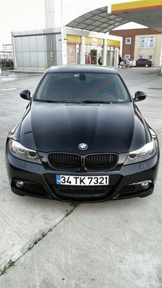 Jet Black BMW E90 :-)
