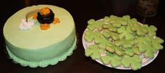 St. Patrick day cookies & cake