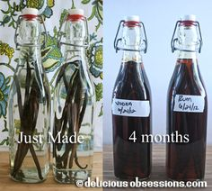 How to Make #Homemade #Vanilla Extract | www.deliciousobsessions.com #DIY #Gifts #Christmas #Holidays #Baking