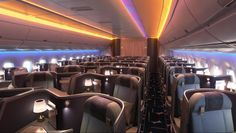 The China Airline A350 cabin design. Huge fan of the diamond seat design.