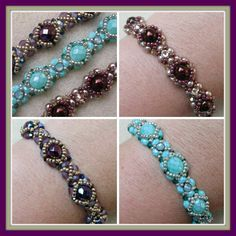 Kelly from Off the Beaded Path, in Forest City, North Carolina shows you how make a bracelet that matches an earring project that was done a while back. We h...