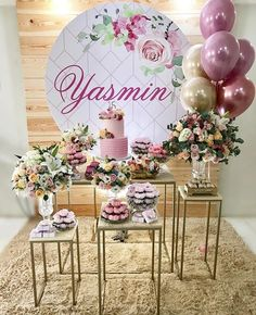 25 creative and fun ideas - Birthday FM : Home of Birtday Inspirations, Wishes, DIY, Music & Ideas Decoration Buffet, Deco Buffet, Birthday Design, 40th Birthday, Birthday Parties, Birthday Party Decorations, Wedding Decorations, Décor Boho, Gold Party