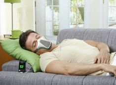 """Best of may not accurately describe this...but it sure is odd... """"AIRE Mask Uses the Power of Human Breath To Charge Gadgets"""""""