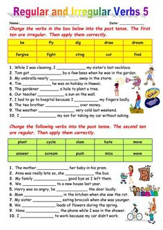80 English ESL worksheets, English ESL activities and video lessons for distance learning, home learning and printables for physical classrooms English Grammar Tenses, English Verbs, English Language, Free Kindergarten Worksheets, Worksheets For Kids, English Lessons, Learn English, English Activities, English Games
