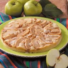 Almond-Apple Coffee Cake