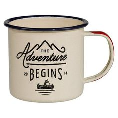 Buy Gents Hardware Enamel Mug online and save! Gents Hardware Enamel Mug Take your new favourite drinking receptacle with you on your travels. This enamel mug will take the knocks and bears the mo. Dot And Bo, Glamping, Maxwell Williams, Outdoor Outfitters, Going Away Gifts, Microwaves Uses, And So The Adventure Begins, Mug Designs, Drinkware
