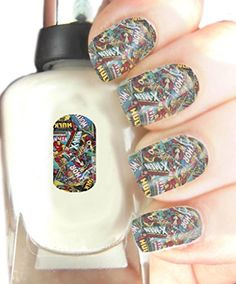 Easy to use, High Quality Nail Art For Every Occasion! Marvel Wrap: Amazon.co.uk: Beauty