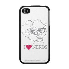 """""""I Heart Nerds"""" Lola Bunny #iPhone 4/4S Case WANT!!"""