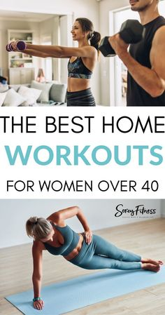 7 At Home Workouts for Women Over 40 | Everything You Need