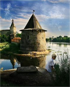 PSKOV, RUSSIA ~ the town created in the 10th  century. Was the frontline of ancient Rus.