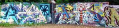 graffitti urban art - cooper young, memphis