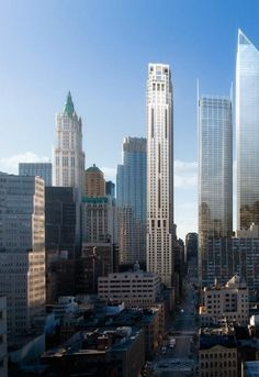 Skyscrapers: 30 Park Place; Four Seasons Downtown, Manhattan, New York  © dbox  Click the picture for more!