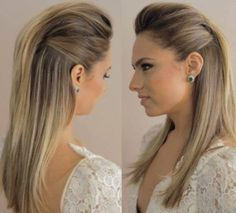 Peinados Para Cabello Lacio Largo Suelto Y Faciles Bonito En