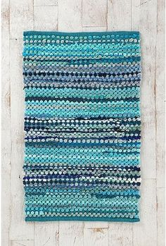 Ribbon Rag Rug (Urban Outfitters)