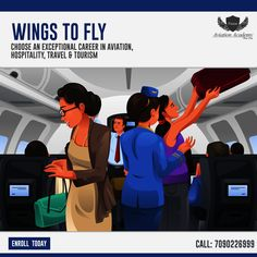 Vision Aviation Academy - Wings To Fly Choose an Exceptional Career In Aviation,  Hospitality, Travel & Tourism Certification Training In - Airline , Airport , Hotel ,Travel & Tourism   100% JOB Placement Assistance Call: 7090226999  #Airline #Hotel #Travel #Airport #cabincrew #FlightAttendant