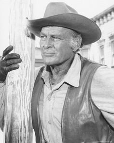 """Actor Leif Erickson - He was in numerous films in the 40s-60 -- and was a co-star of late 60s TV's The High Chaparral.  Played Jim Lewis - Season 1, Episode 1 """"The Sharpshooter"""""""