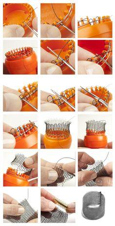 Wire Jewelry Designs, Handmade Wire Jewelry, Jewelry Patterns, Wire Jewelry Making, Wire Wrapped Jewelry, Wire Crafts, Jewelry Crafts, Spool Knitting, Wire Tutorials