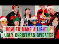 DIY Light-up Ugly Christmas Sweater!