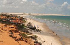 Praias do Brasil para conhecer em 2017 -Canoa Quebrada (Ceará)