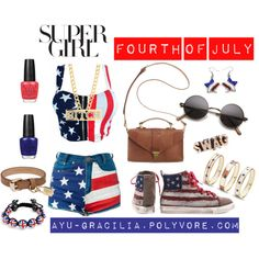 """Fourth of July"" by ayu-gracilia on Polyvore"