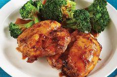 Tamari Honey Chicken with Broccoli & Almond Butter Sauce — Punchfork
