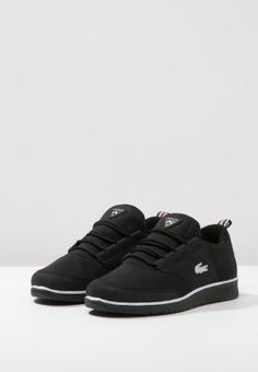 096828c45d Lacoste LIGHT - Baskets basses - black - ZALANDO.FR Chaussure Lacoste,  Basket Basse