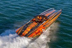 High Performance Boat, Powerboat Racing, Deck Boat, Fast Boats, Super Yachts, Power Boats, Catamaran, Custom Paint, Boating