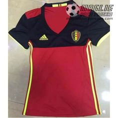 Home Maglia Calcio Donna Belgio 2015-16