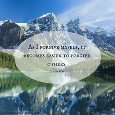 Do you struggle with Maybe the person you need to forgive is yourself! Love this quote by Louise Hay! Woodbury Minnesota, Louise Hay, Forgiving Yourself, City Life, Forgiveness, Counseling, Recovery, Coaching, Motivational Quotes