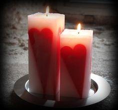 Sydänkynttilät Pillar Candles, Album, Taper Candles