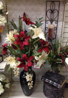 Orchid Silk Flower Arrangement This Beautiful Silk Floral