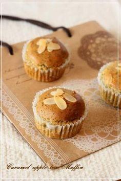 「キャラメルりんごと紅茶のマフィン」chihiro | お菓子・パンのレシピや作り方【corecle*コレクル】